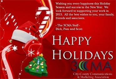 Happy Holidays from 3CMA
